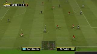 Al Hilal ( 1 - 5 ) Manchester United [PES 2009 Highlights] 2017 Video