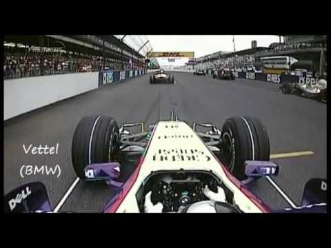 F1 2007 - R07 - Onboard Start and First Lap in Indianapolis [USA GP]