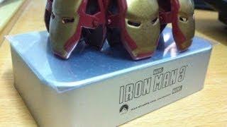Iron man 3 metal paper clip Golden Screen Cinema exclusive