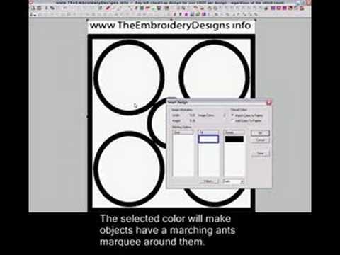Wilcom EmbroideryStudio e1.5 Layout | Doovi