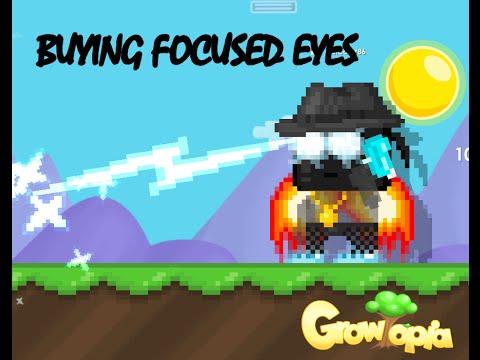 Focused Eyes Growtopia