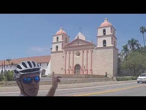 Tour of California - Gibraltar Road, Santa Barbara, CA, USA