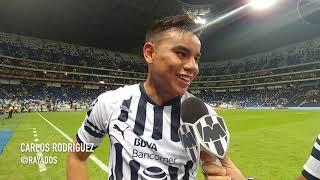 El Comentario Rayado con el jugador del partido de los 4tos de Final en la Copa MX