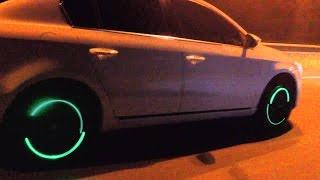 Auto Tire Valve Caps Light