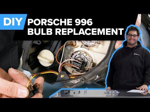 Porsche 996 911 Headlight & Tail Light Bulb Replacement DIY (1999-2005 Porsche 911 Carrera)