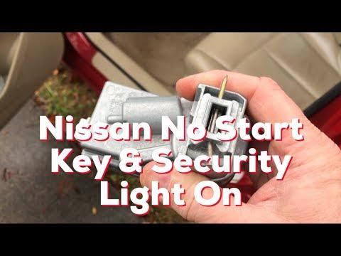 Nissan & Infiniti  : Car Won't Start, Key FOB Indicator Light On - REAL FIX