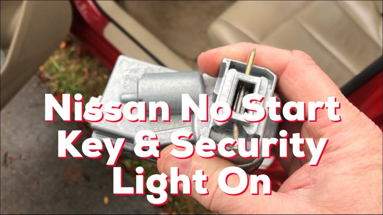 Nissan Infiniti Car Won T Start Key Fob Indicator Light On