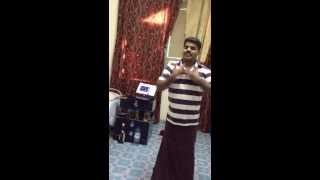 Suresh.K dance performance in Al Ain Room with the song of Ammathan Nenjil - 08/16/2013
