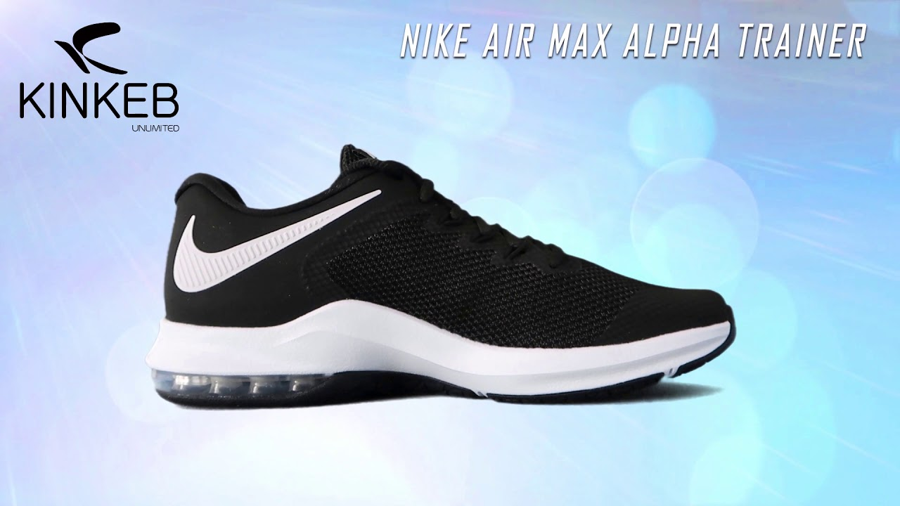 5a3295d61f Nike Air Max Alpha Trainer - YouTube