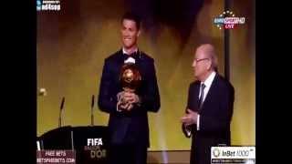 cristiano ronaldo - FIFA Ballon d'Or  2015