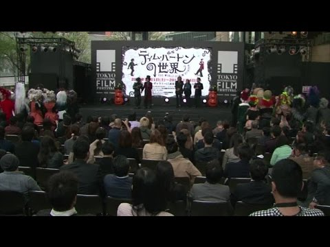 'The World of Tim Burton' exhibition opening in Tokyo