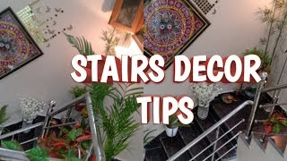How To Decor Stairs | Tips To Decor Stairs  #stairsdecoration