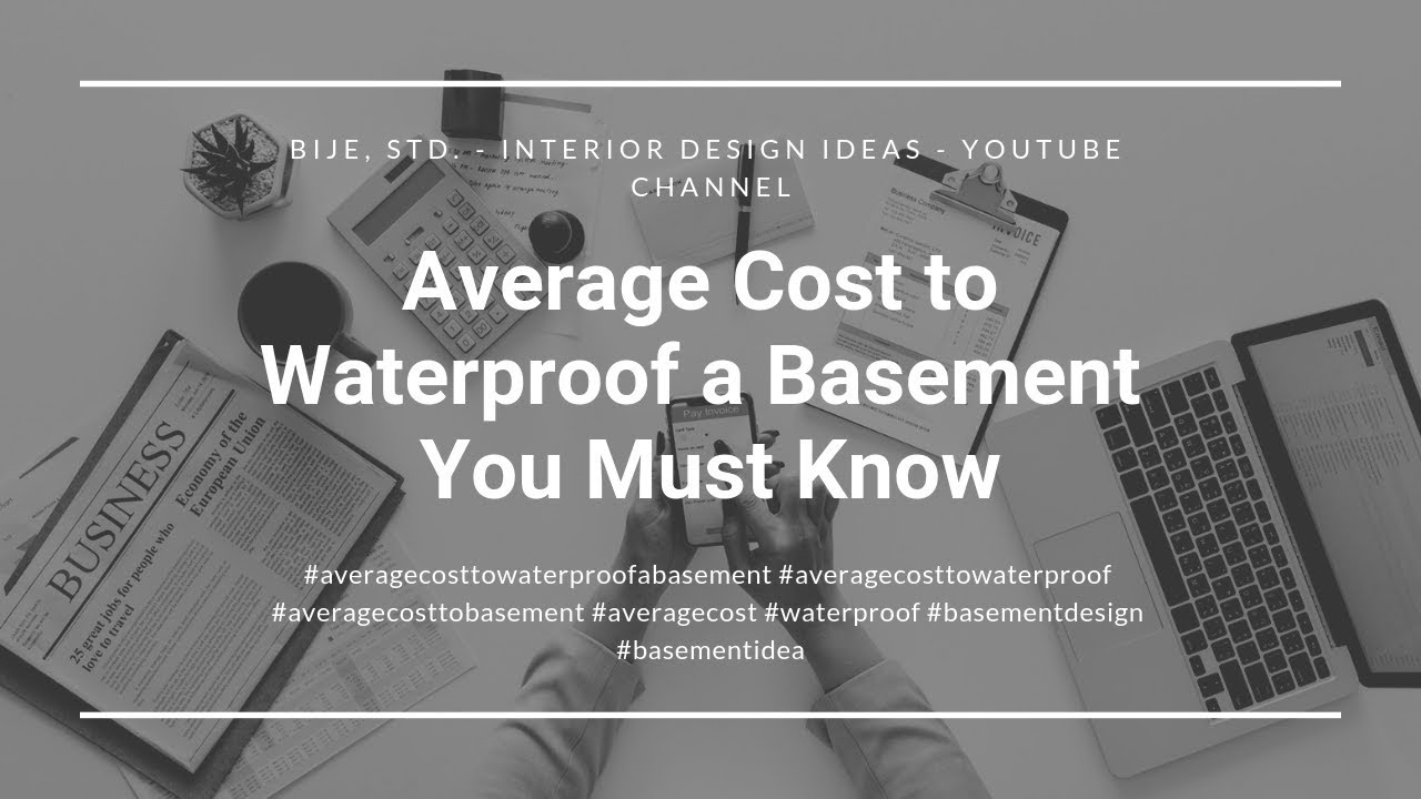 average cost to waterproof a basement you must know youtube rh youtube com Basement Waterproofing Products Basement Waterproofing Products