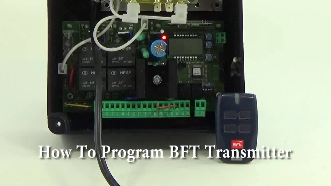 How To Program BFT Transmitter To Receiver