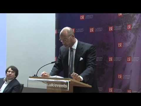 Saif al Islam Gaddafi, Professor David Held - Libya, Past Present And Future. LSE Lecture
