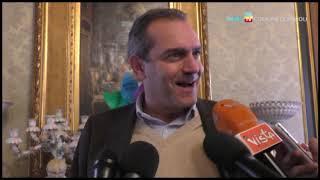 De Magistris: auguri di buon Natale al presidente De Laurentis