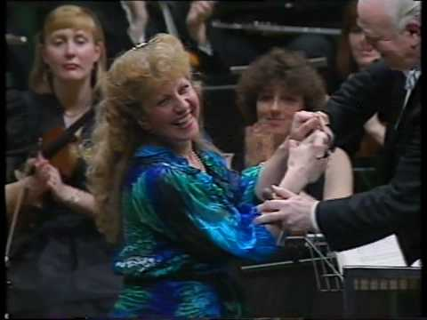 Cecile Ousset LIVE - Prokofiev's Third Piano Concerto - stereo '91 (pt.3of3)