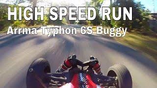 JPRC -  Gopro on Arrma Typhon 6s Buggy Mamba Monster X 2200kv