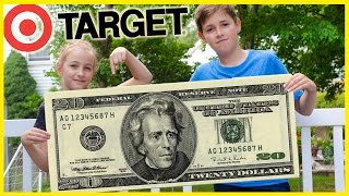 $20 BACK TO SCHOOL OUTFIT CHALLENGE! SHOPPING AT TARGET!