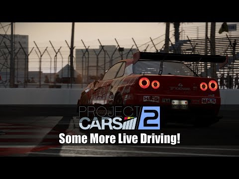 Let's Do More Live Driving in Project CARS 2!!