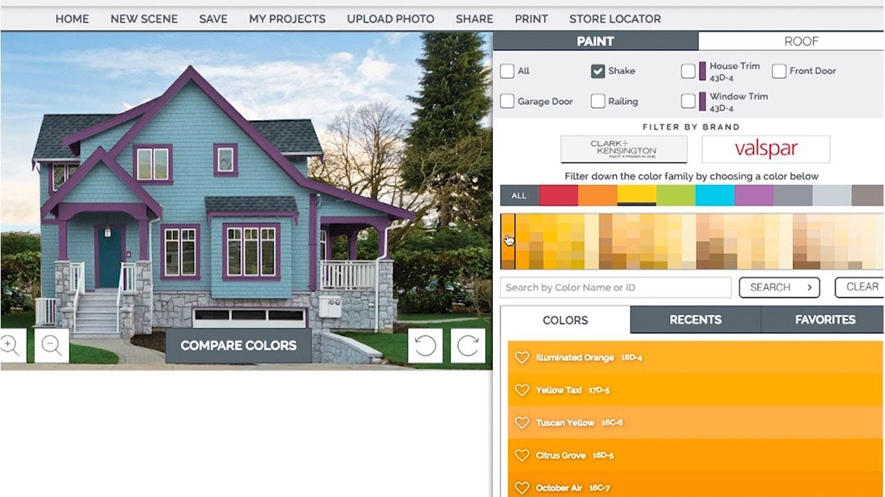 Ace Hardware Color Visualizer Housesmarts Designsmarts Episode 213 Youtube