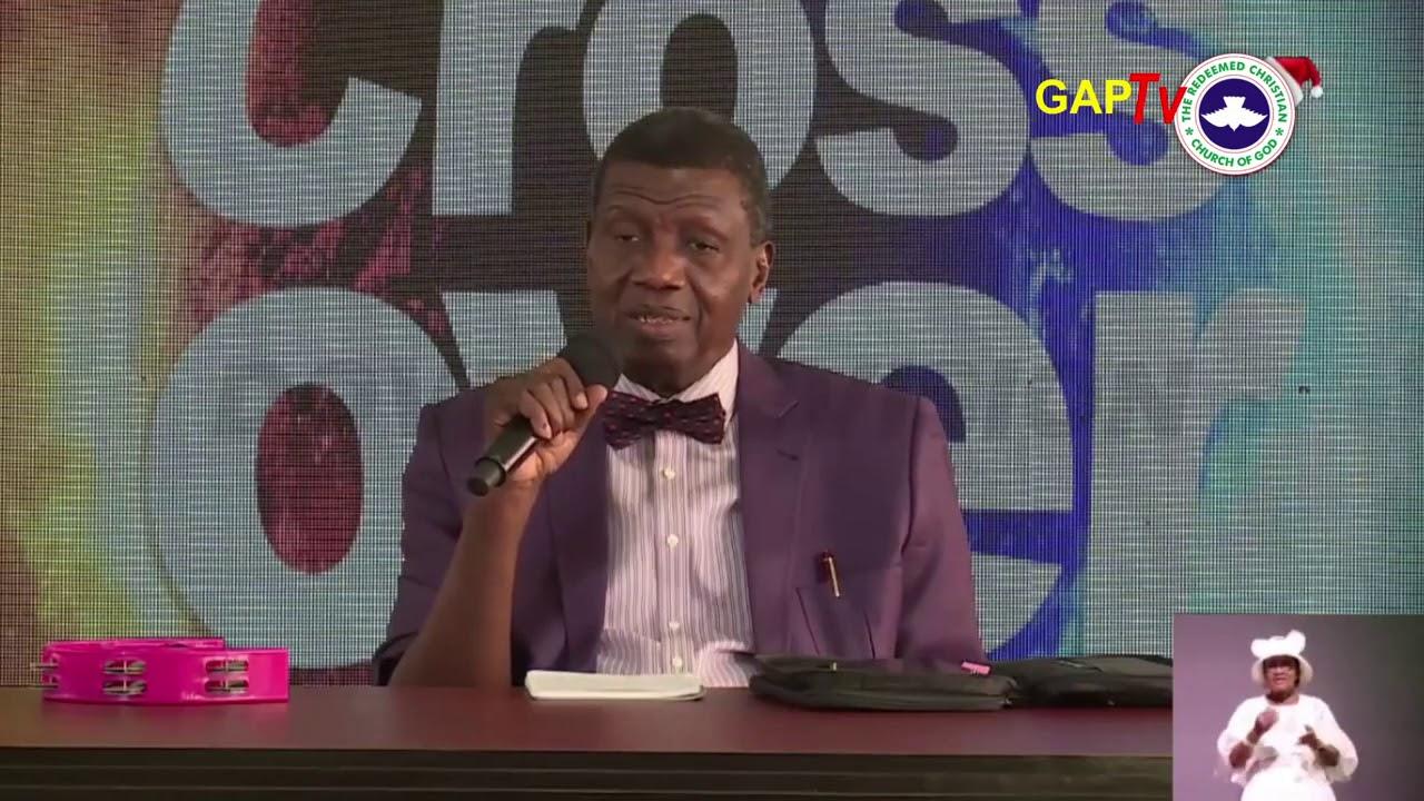 Download Pastor E.A Adeboye Sermon @RCCG 2020 CROSS OVER SERVICE