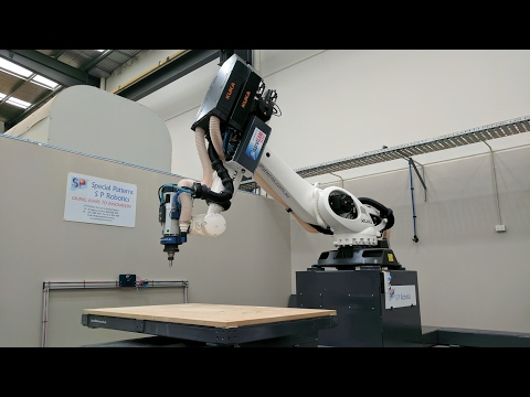 Robotic Machining / Milling Accuracy Test! Kuka Robot powered by SprutCAM robot