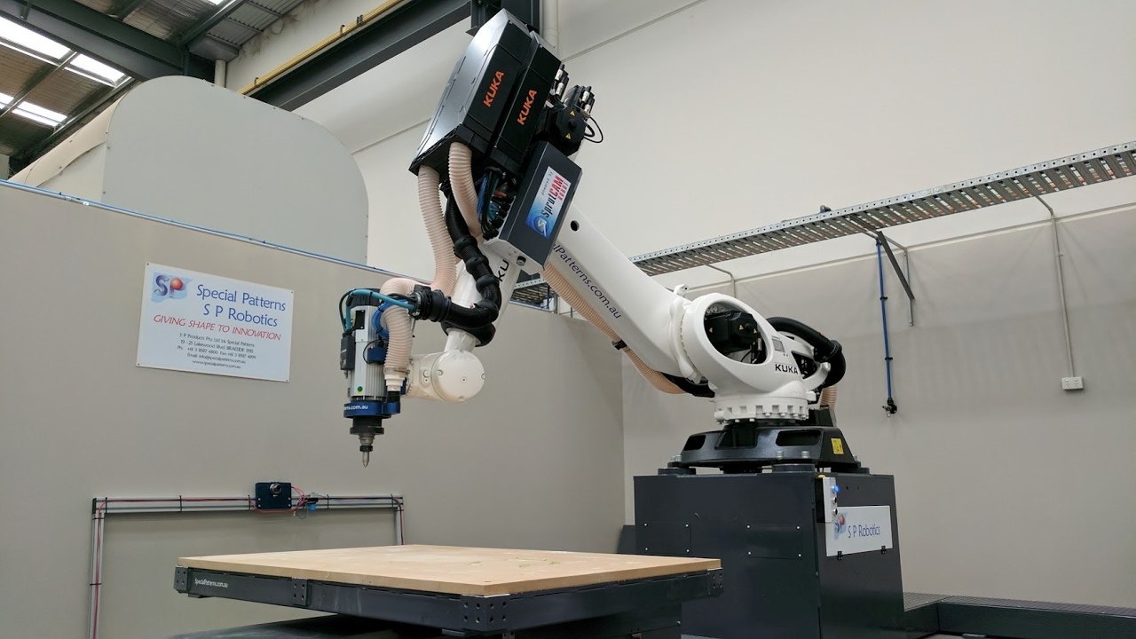 Robotic Machining Milling Accuracy Test Kuka Robot Powered By