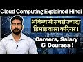 Cloud Computing Explained in Hindi | Courses, Salary & Certifications | Google | Microsoft