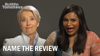 Late Night's Emma Thompson and Mindy Kaling Play