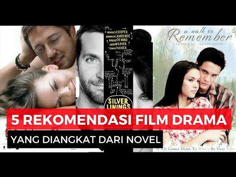 5 Film Drama Romantis Pilihan yang Diadaptasi dari Novel