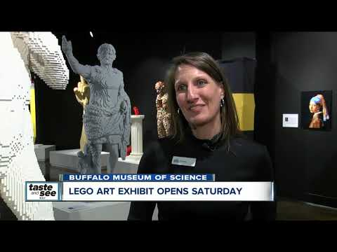 Amazing Lego art exhibit ready to open at the Buffalo Museum of Science