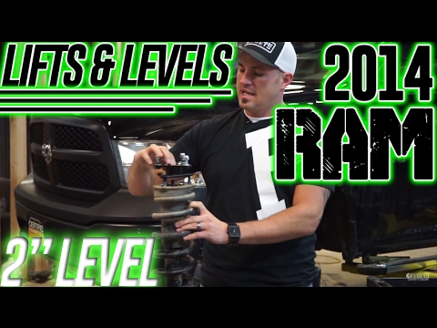 "Lifts & Levels: 2014 Ram 1500, 2"" Leveling kit"