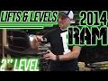 "Lifts & Levels: 2014 Ram 1500, 2"" Leveling kit"