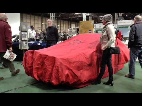 Unveiling Of The MGB 1968 London To Sydney Marathon Car