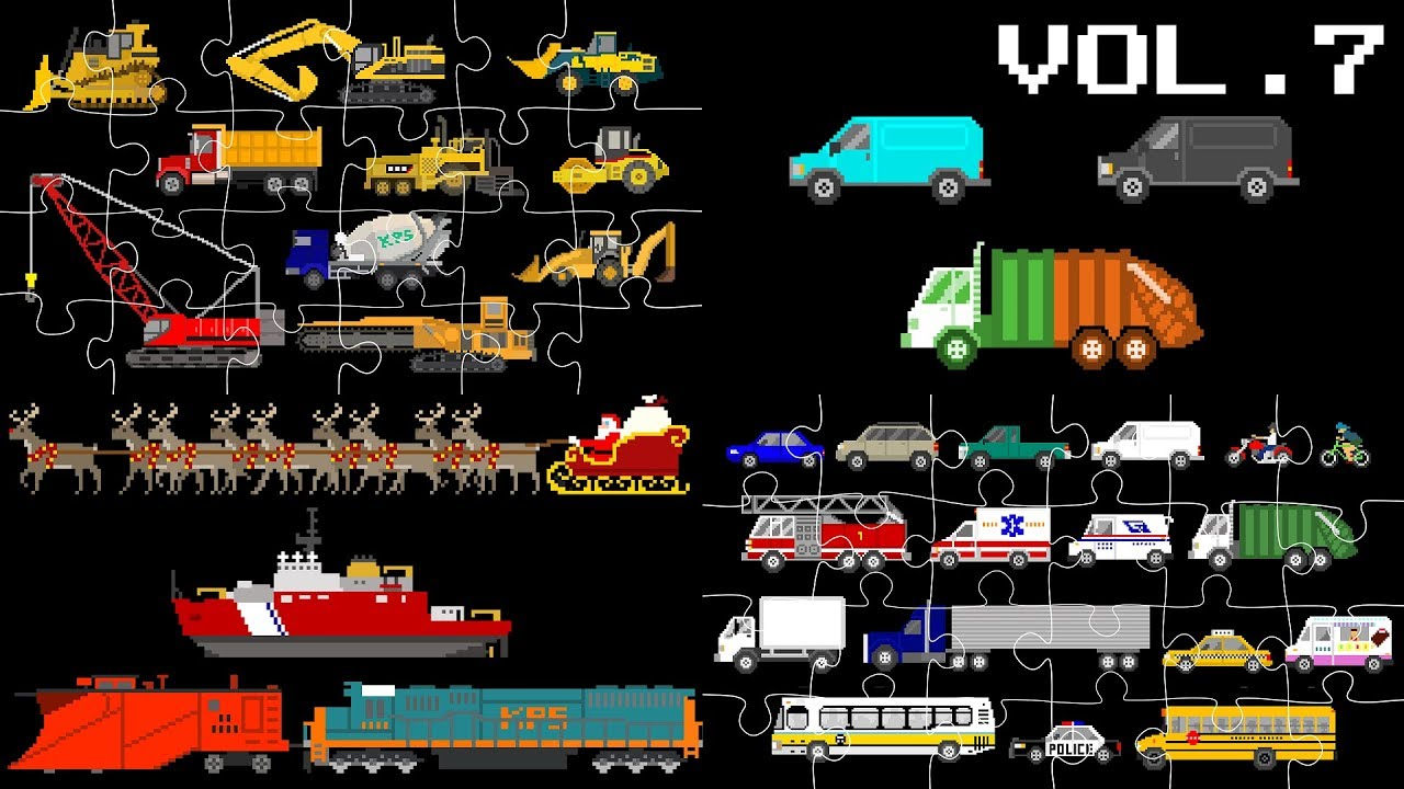 vehicles-collection-volume-7-street-vehicles-puzzles-patterns-the-kids-picture-show