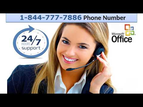 Call On 1-844-777-7886 For Microsoft Office Setup Technical Support