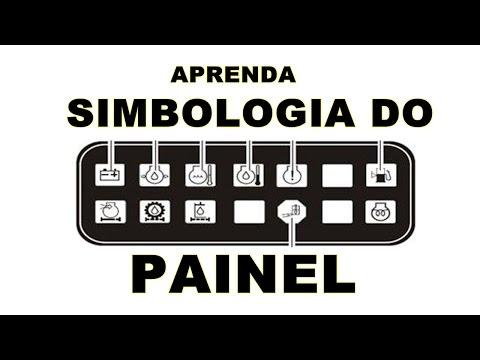 SIMBOLOGIA BÁSICA DO PAINEL DAS MÁQUINAS PESADAS