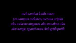 Download Mp3 Lirik Lagu Ndx Aka Familia - Sayang
