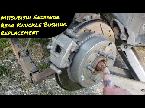 Mitsubishi Endeavor Rear Knuckle Bushing Replacement