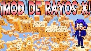 MOD X-RAY PARA MINECRAFT | RAYOS X PARA ENCONTRAR DIAMANTES FÁCILMENTE