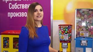 Обзор комплекта механических торговых автоматов от компании GLOBAL GUMBALL