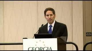 CDC Director Tom Frieden speaks to Georgia Chamber of Commerce