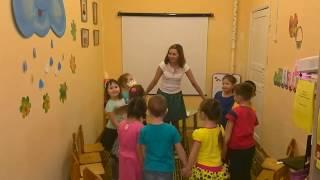 Занятие в старшей группе Осень золотая (обучение русскому языку как неродному)