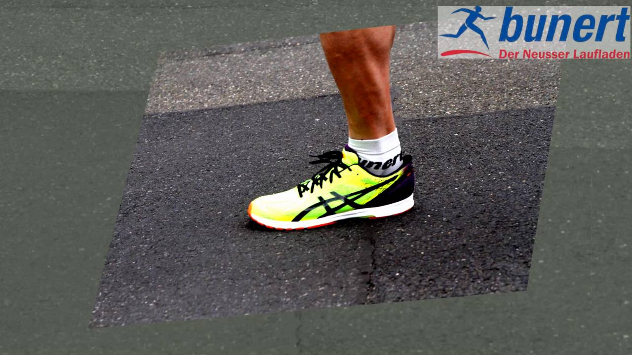 nieve sombra Pelmel  ASICS Gel-DS Racer Final - YouTube
