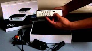 aaxa p300 pico projector unboxing