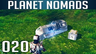 PLANET NOMADS [020] [Mobile Schlafkammer - Camping 2.0] [S02] Let's Play Gameplay Deutsch German thumbnail