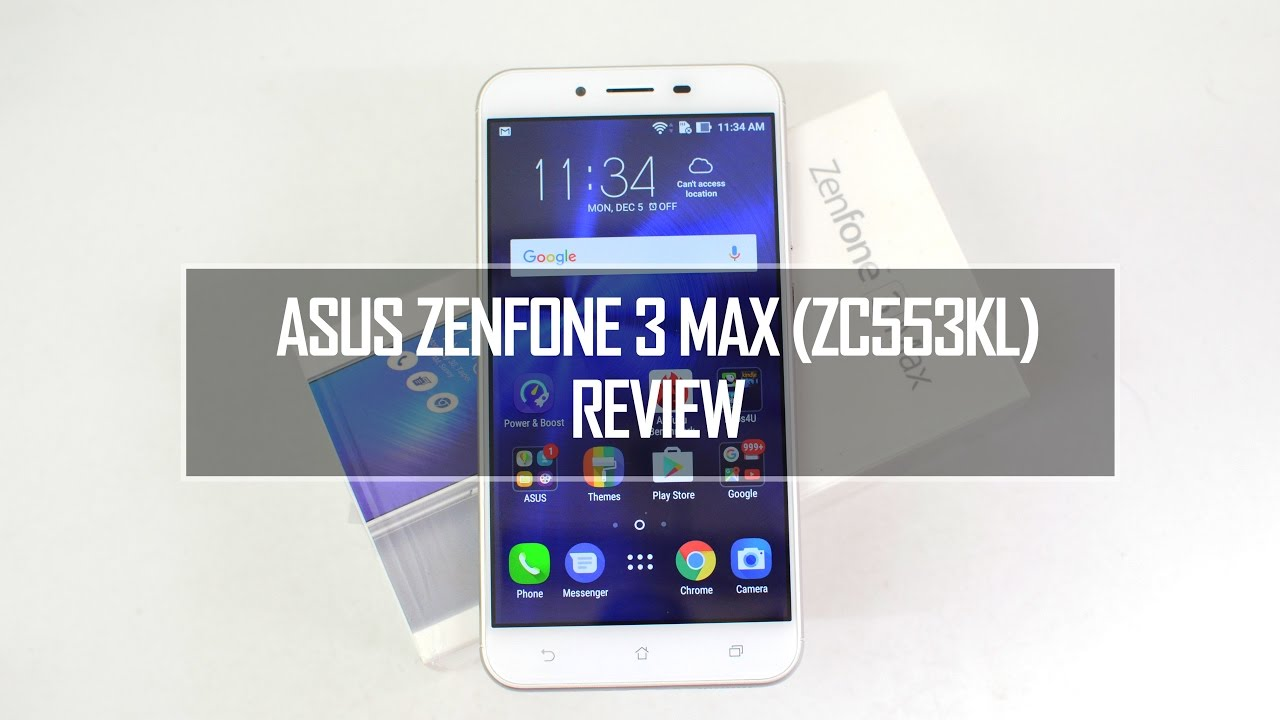 ASUS Zenfone 3 Max ZC553KL Full Review Pros And Cons