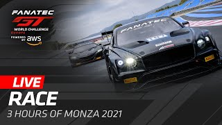 LIVE FROM MONZA - MAIN RACE - FANATEC GT WORLD CHALLENGE 2021 - ENGLISH