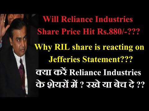 Why Reliance Stock Price is Falling? ||Reliance Industries Share price target [In Hindi]